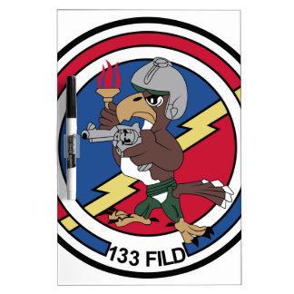 Turkish Air Force Patch 133 Filo F 16 Fighting Fal Dry-Erase Board