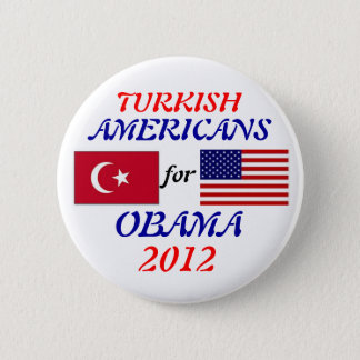 Turkish Americans for Obama button