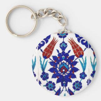 TURKISH BASIC ROUND BUTTON KEY RING