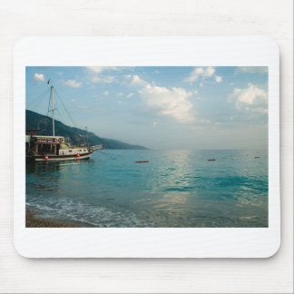 Turkish Beach before sunset Mouse Mat