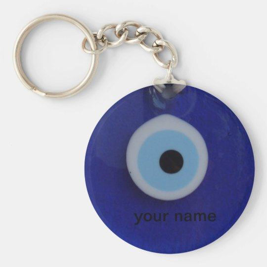 Turkish bead evil eye amulet tag  Keychain