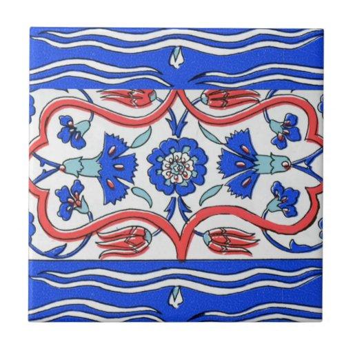 Turkish Border Patterned Tiles