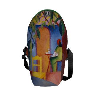 """""""Turkish Café"""" Art messenger bags"""