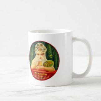 Turkish Cigarettes Tobacco Retro Vintage Kitsch Classic White Coffee Mug