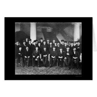 Turkish Delegation 1923 Greeting Card