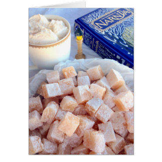 Turkish Delight Greeting Card