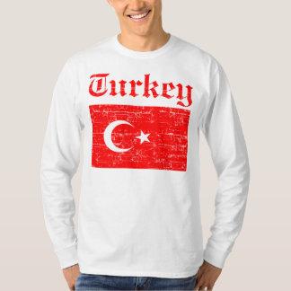 Turkish distressed flag T-Shirt