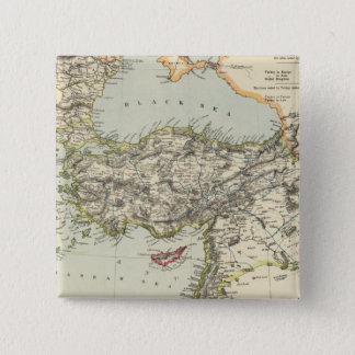 Turkish Empire, Greece, Romania 15 Cm Square Badge