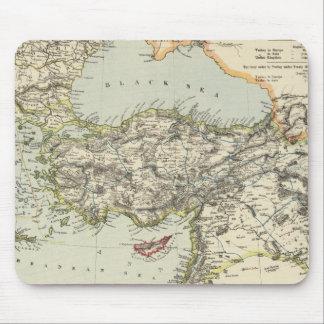 Turkish Empire, Greece, Romania Mouse Mat