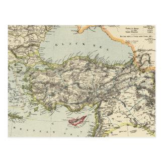 Turkish Empire, Greece, Romania Postcard