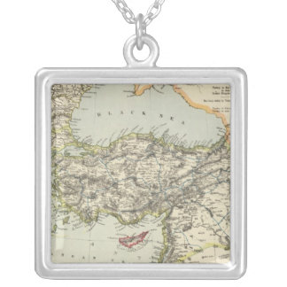 Turkish Empire, Greece, Romania Silver Plated Necklace