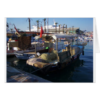 Turkish Fishing Boats Card