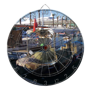 Turkish Fishing Boats Dartboard