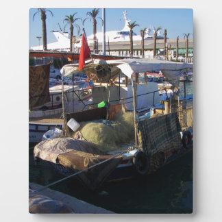 Turkish Fishing Boats Display Plaque
