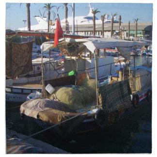 Turkish Fishing Boats Napkin