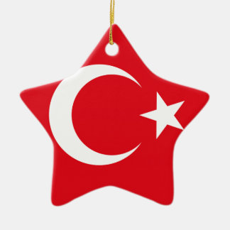 Turkish Flag Christmas Ornament