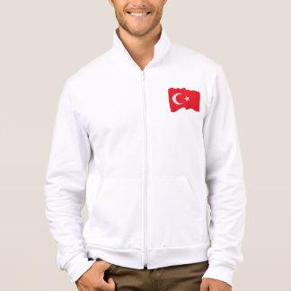 Turkish Flag Mens Jacket