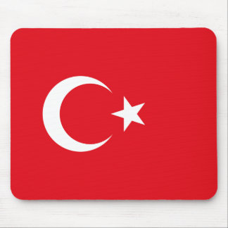 Turkish Flag Mouse Mat