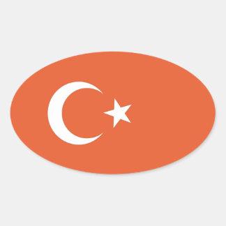 Turkish Flag Stickers
