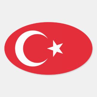 Turkish Flag Sticker