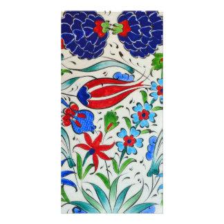 Turkish floral design card