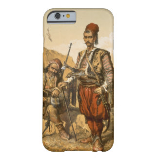 Turkish foot soldiers in the Ottoman army, pub. by Barely There iPhone 6 Case