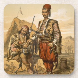 Turkish foot soldiers in the Ottoman army, pub. by Coasters