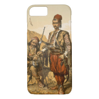 Turkish foot soldiers in the Ottoman army, pub. by iPhone 8/7 Case