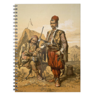 Turkish foot soldiers in the Ottoman army, pub. by Notebooks