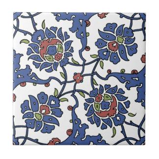 Turkish garden flower composition 1 tile