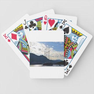 Turkish Gulet In Kas Bicycle Playing Cards