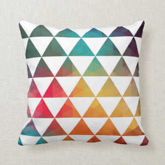 Turkish Inspired Colorful Geometric Pattern 3a Throw Pillow