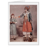 Turkish Lady With Maid By Jean-Etienne Liotard Cards