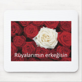 TURKISH LOVE 'You're the man of my dreams' Mouse Mat