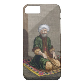 Turkish Man, praying, 18th century (engraving) iPhone 8/7 Case