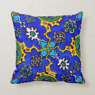 Turkish Ottoman Inspired Pillow - BLUE