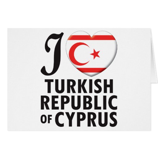 Turkish Republic Of Cyprus Love Cards