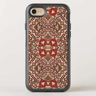 Turkish Rug in Red, Beige and Black OtterBox Symmetry iPhone 8/7 Case