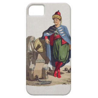 Turkish Soldier, from 'Costumes of the Various Nat iPhone 5 Covers