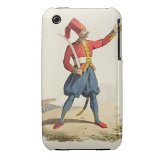Turkish soldier, from 'Costumes of the Various Nat Case-Mate iPhone 3 Cases