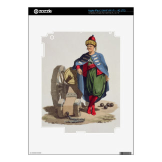 Turkish Soldier, from 'Costumes of the Various Nat iPad 3 Decals