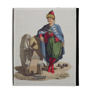 Turkish Soldier, from 'Costumes of the Various Nat iPad Folio Cover