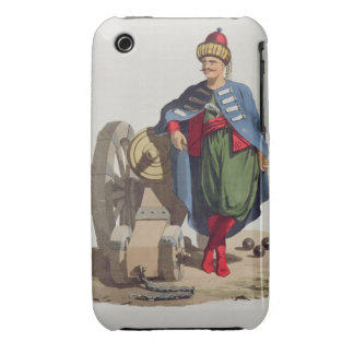 Turkish Soldier, from 'Costumes of the Various Nat iPhone 3 Case-Mate Case
