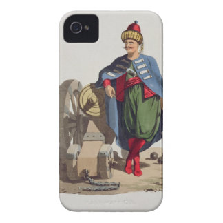 Turkish Soldier, from 'Costumes of the Various Nat iPhone 4 Covers
