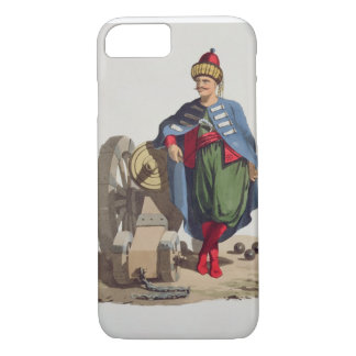 Turkish Soldier, from 'Costumes of the Various Nat iPhone 8/7 Case