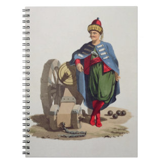 Turkish Soldier, from 'Costumes of the Various Nat Notebooks