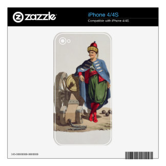 Turkish Soldier, from 'Costumes of the Various Nat Skin For The iPhone 4