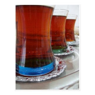 Turkish Tea Postcards
