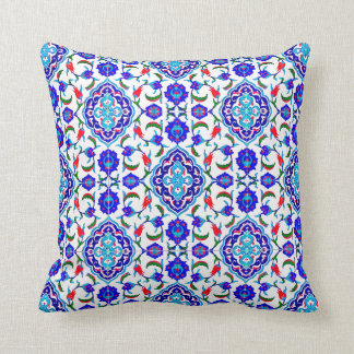 Turkish Tile inspired Design Throw Cushions