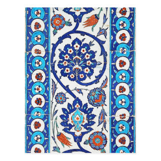 turkish tiles Postcard
